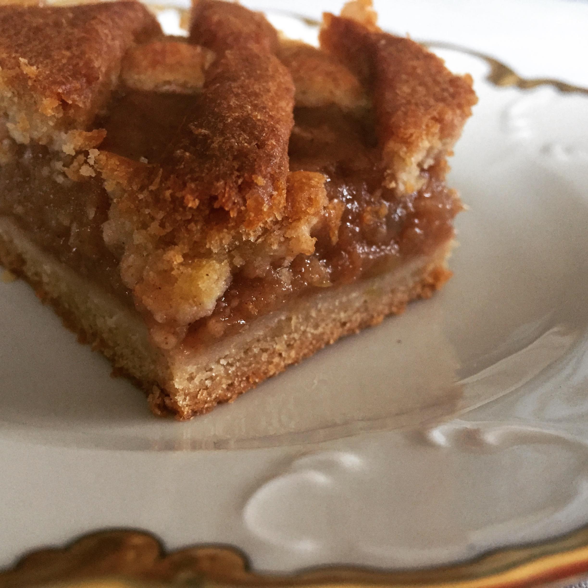 szarlotka, jesienne ciasto